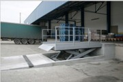 Table transbordement extra plate - Charges lourdes jusqu'à 15.000 Kg