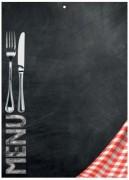 Tableau ardoise de menu - Vendu à l'unité - Neutre - 50 x 70 cm