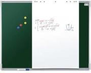 Tableau blanc et craie - Tableau émaillé magnétique ou surface à craie