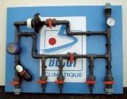 Tableau d'eau - Monté sur plaque en PVC