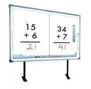 Tableau interactif électromagnétique - Niveau d'interactivité élevé - Pour 2 élèves en simultané