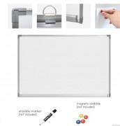 Tableau magnétique en aluminium - Dimensions (Lxlxh) : 900x600 - 1200x900 - 1500 - 1800 - 2000x1200 mm