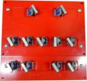 Tableau modulaire echangeur de clé - Échange de deux quantité de clés TMEC
