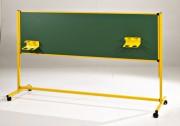 Tableau scolaire 2 faces vertes - Mobile