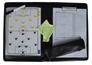 Tableau tactique magnétique rugby - Dimension : 34 x 28 cm - 24 feuilles détachables