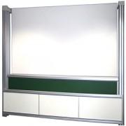 Tableaux coulissants - Surface : Acier émaillé - Magnétique