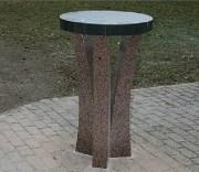 Tables de cérémonie columbarium - Table ronde
