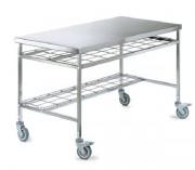 Tables de conditionnement acier - Revêtement  Acier inoxydable 18/10