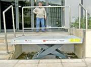 Tables de quai pour chargement - Hauteur basse : de 250 mm à 600 mm