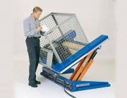 Tables élévatrices basculantes - Capacités : De 750 kg à 3000 kg - Inclinaisons : De 5° à 40°