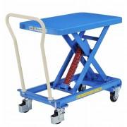 Tables élévatrices manuelles - Capacité de charge : de 150 à 800 kg