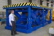 Tables élévatrices pour fortes charges - Capacité : 80 tonnes