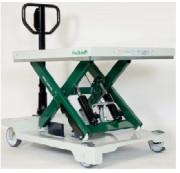 Tables hydrauliques mobiles à batteries - Capacités : De 150 kg à 1000 kg - Plateformes : De 815 x 500 mm à 1010 x 520 mm