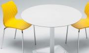 Tables pour restaurant et bistrot - Piétement en aluminium