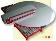Tables tournantes pour carton - Plateau inox ou PVC