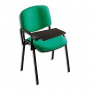 Tablette écritoire adaptable sur chaise conférence 4 pieds tissu - Dimensions : L35 x H1,8 x P25 cm noir - Tablette écritoire