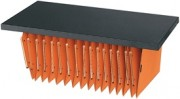 Tablette métallique pour armoires bureau - Longueur : 80 cm