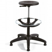Tabouret d'atelier en polyuréthane - Hauteur d'assise réglable entre 31 à 80 cm