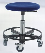 Tabouret d'atelier ergonomique réglable en hauteur - Hauteur d'assise : 37 - 50 cm