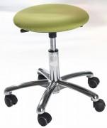 Tabouret d'atelier ergonomique rembourré - Diamètre du siège : 36 cm
