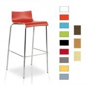Tabouret de bar en bois - Hauteur d'assise : 70,50 cm