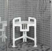 Tabouret de douche 615 x 570 - Dimensions (hxlxp) : 615 x 570 x 460  mm