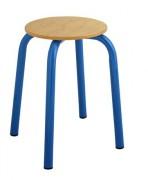 Tabouret enfant maternelle - Hauteur d'assise 45 cm