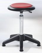 Tabouret ergonomique réglable en simili cuir - Hauteur d'assise : 54 - 73 cm