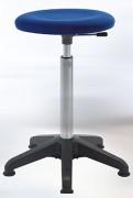 Tabouret ergonomique rembourré sur patins - Hauteur d'assise : 54 - 80 cm