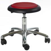 Tabouret ergonomique télescopique à hauteur réglable - Hauteur d'assise : 37 - 50 cm