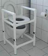 Tabouret et rehausse de toilette 150 Kg - Charge maxi : 150 kg