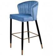 Tabouret haut style contemporain - Dimensions: 58 x 55 x 105 cm