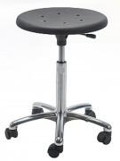 Tabouret réglable en polyuréthane - Hauteur d'assise : 46 - 65 cm