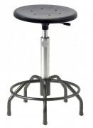 Tabouret réglable sur patins - Hauteur d'assise : 54 - 73 cm