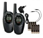 Talkie walkie Cobra MicroTalk - Portée jusqu'à 5 km
