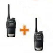 Talkie-walkie étanche et résistant au choc - Pack 2 Talkies-walkies petits - légers et robustes