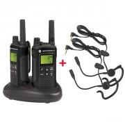 Talkie walkie Motorola XT180 - Pack de 2 talkies étanches IPX2