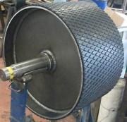 Tambour magnétique en acier inoxydable - Revêtement en acier inoxydable
