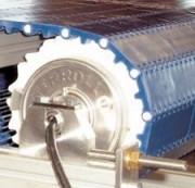 Tambour moteur en acier inoxydable - Diamètre de 138.5 mm avec arbre carré de 60 mm