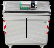 Contrôle d'accès des bio déchets - Adaptable bacs roulants, abris bacs, colonnes aériennes