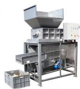 Tamis vibrant - Largeur utile des grilles 420 mm - longueur 1 550 mm