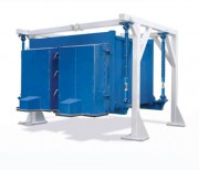 Tamiseur pour volumes élevés - Construction robuste avec revêtements anti-abrasion