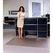 Tapis antidérapant en polycarbonate pour sol dur 120 x 134 cm - CLEARTEX