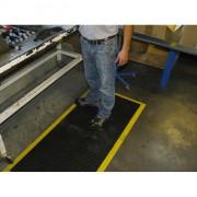 Tapis antifatigue - Dimensions (L x l) cm : 71 x 79 - Epaisseur : 11 mm