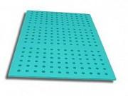 Tapis aquatique perforé - Dimensions (L x l x E) : 1.5 x 0.5 x 0.015 m