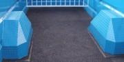 Tapis caoutchouc bétaillère - Kit Aire Rem de 3 m² sol de bétaillère