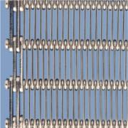 Tapis convoyeur à maille inox - Tapis à oeillets - aciers tout types - plus option Lavage - séchage - et fardelage