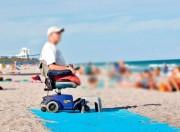 Tapis d'accès plage polyester - Poids : 2 Kg - Léger et résistant
