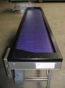 Tapis d'accumulation - Utilisation en version alimentaire ou industrielle
