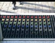 Copie de Tapis d'entrée extérieur en anneaux caoutchouc - Dimensions (cm) : de 40x60 à 100x150 - Epaisseurs (mm) : 22